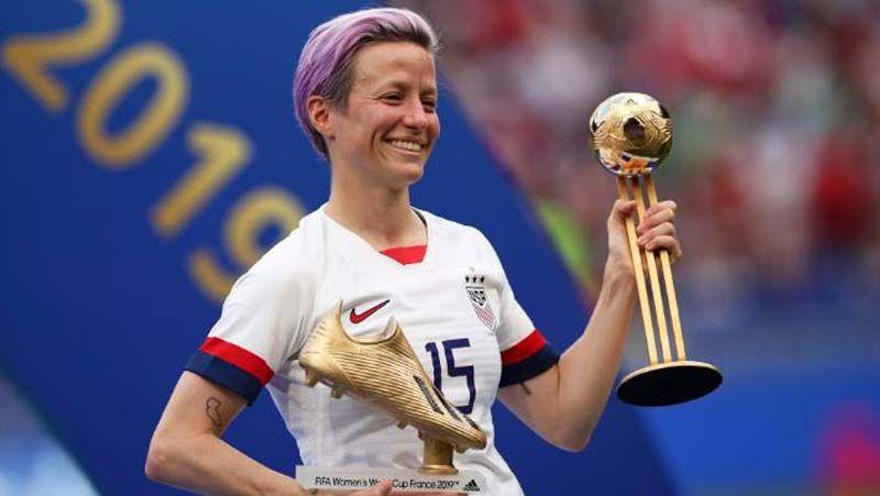 ผู้หญิง - คุยกัน7วันหน : เมแกน ราปิโน ผู้ชนะตัวจริงฟุตบอลโลกหญิง 2019